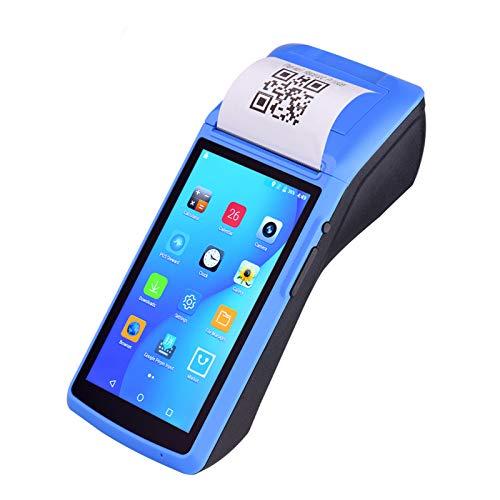 Aibecy Impresora PDA de mano todo en uno Terminal inalámbrico Impresora de recibos Android 6.0 POS Payment con pantalla táctil de 5...