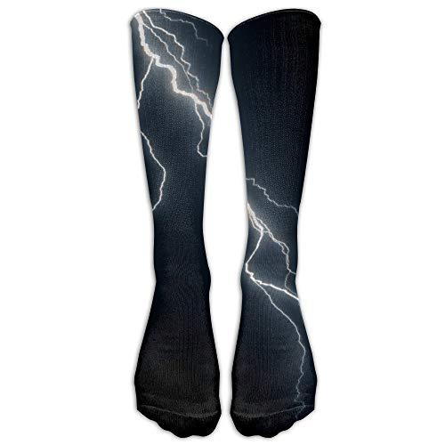 HNJZ-GS Blitz-athletischer Langer hoher Socken-Strumpf im Freien