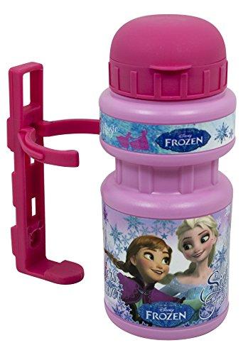 Disney Mädchen Frozen Trinkflasche, Rose, 350 ml