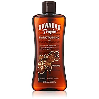 Hawaiian Tropic Dark Tanning Oil Original 8 oz
