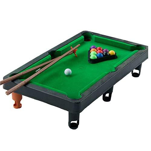 1set Mini Tisch Pool Set Kleines Billard Spiel Enthält Spiel Bälle, Stöcke Und Triangle Zahnstangenweg Freundlichen Büro-Schreibtisch-Spiele Für Die Ganze Familie