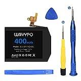 Batería para Samsung Gear S3 Frontier SM-R760 y Gear S3 Classic, 400 mAh, 3,85 V, cambio de...
