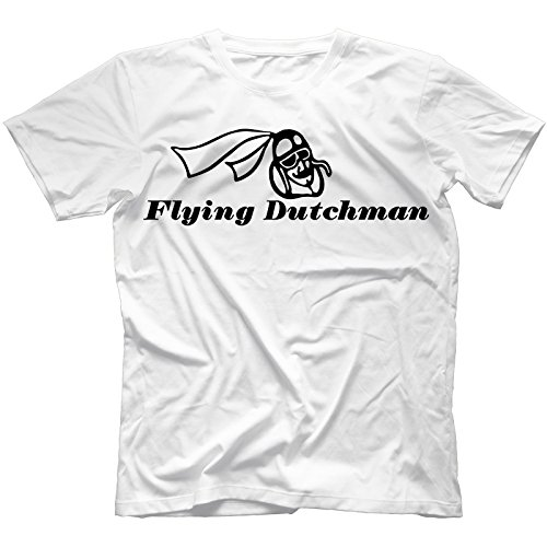 Flying Dutchman Records T-Shirt Gil Scott-Heron Duke Ellington[White,XXL]