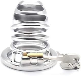 Device Lock Ĉöċk Cage Chástí-ty Device, Cǒck Lock 3 Different Sizes Lock Ring Adult Stainless Steel Anti-Off T-Shirt Belt Anti-Off Lock Ring (Size : 50mm)