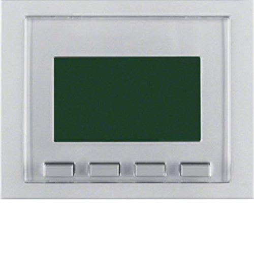Hager k5 - Módulo interruptor horario con display versión simplificada aluminio