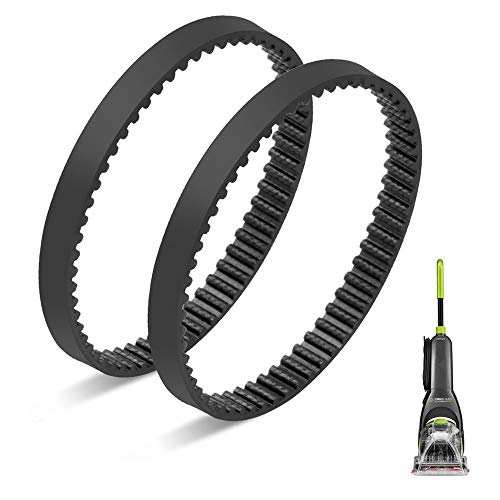 JEDELEOS Replacement Belts for Bissell TurboClean 2085, 20859, 2085Q, 2084 PowerBrush Pet Carpet Cleaner, Replace Part 2035549, Pack of 2
