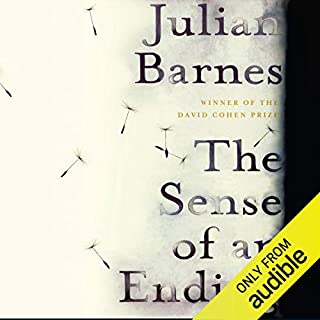 The Sense of an Ending                   By:                                                                                                                                 Julian Barnes                               Narrated by:                                                                                                                                 Richard Morant                      Length: 4 hrs and 37 mins     98 ratings     Overall 4.3