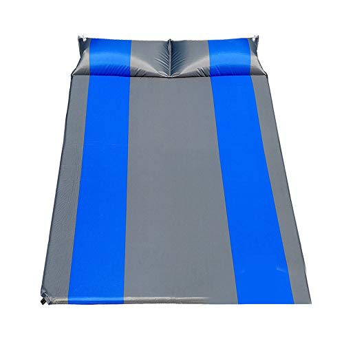 Camping Sleeping Pad Hiking Ultra-Light Pad with Pillow Automatic Inflation for Tent Trunk Compact Sleeping Pad Best Backpack (Color : B)