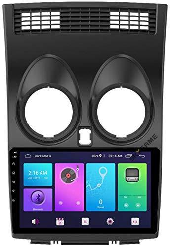 9 Pulgadas Android 9.0 Radio de Coche estéreo para Nissan Qashqai 2008-2015 Pantalla táctil Navegación GPS de con BT USB WiFi FM/SWC Mirror Link Player,WiFi 1g+16g