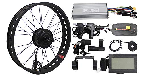 HalloMotor BAFANG 36V 250W Freehub Fat Tire Cassette Rear Wheel 190mm Ebike Conversion 20
