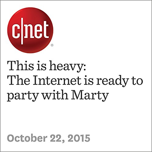 This is heavy: The Internet is ready to party with Marty audiobook cover art