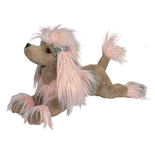 Douglas Zaza Pink Poodle Fuzzle Plush Stuffed Animal -  4292