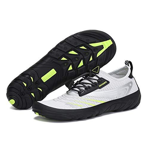 SAGUARO Women Water Shoes Barefoot Shoes Quick Dry Outdoor Non Slip Beach Swim Shoe Surf Shoes...