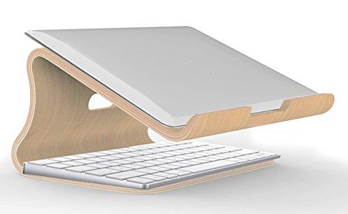 Support d'ordinateur portable en bois