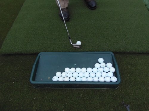 Country Club Elite Golf Ball Tray - Commercial Quality High Impact Plastic Tray (The Exact Same Product We Supply to Commercial Driving Ranges and Golf Courses | Proud to Be Made in The USA