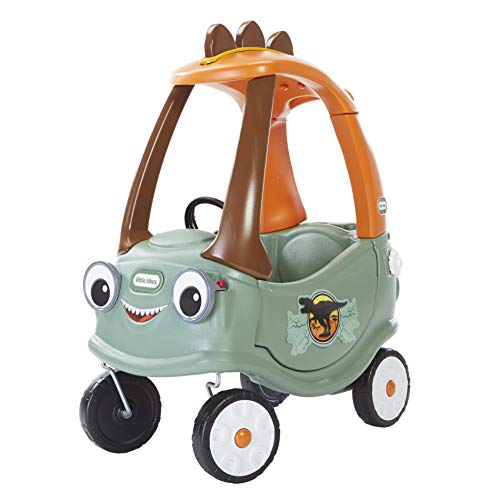 T-Rex Cozy Coupe by Little Tikes Dinosaur Ride-On Car for Kids
