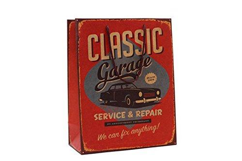 DISOK - Bolsa Papel Classic Garage - Bolsas Baratas Lotes, Ofertas Amazon Regalos