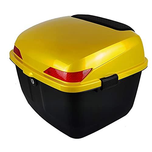 Caja Trasera Para Motocicletas, Caja Superior Para Motocicletas, Maletero Trasero, Estuche Para Almacenamiento De Equipaje, Estuche Rígido Para Scooter / Ciclomotor Con Hardware De Montaje Universal