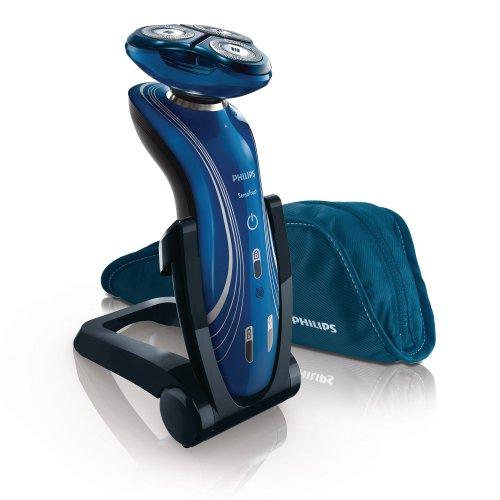 Philips SHAVER Series 7000 SensoTouch RQ1155/16OP rasoio elettrico Trimmer Blu