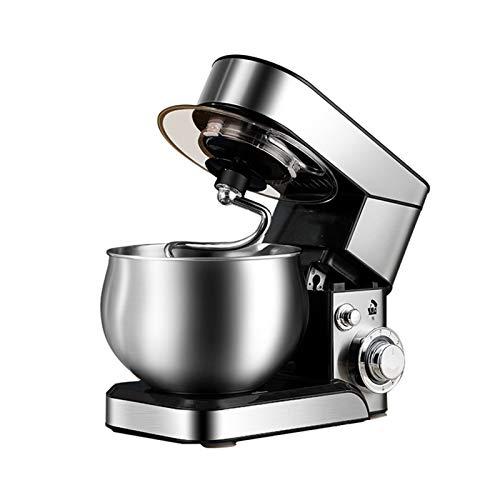 Batidora Amasadora Robot de Cocina Máquina de la mezcladora de la cocina de la cocina del soporte de la cocina Máquina eléctrica de 1200W de 6 velocidades con el gancho de la masa del batidor del huev