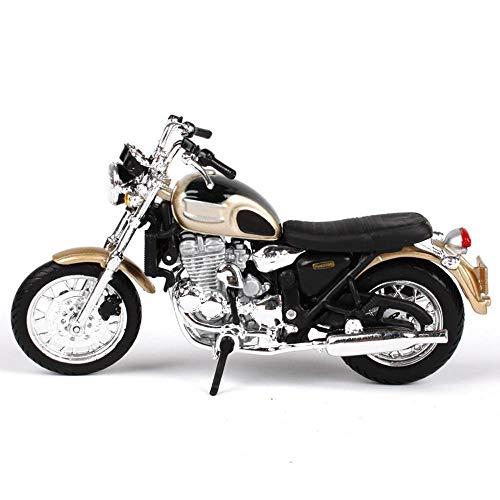 Penao Modèle de Moto Triumph Simulation Alliage, Ornements de modèle d'Automobile, Proportion 01:18