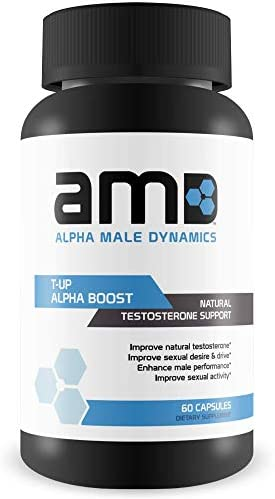 Alpha Male Dynamics Test Booster Increase Muscle Mass Maximize Performance 60 Capsules product image