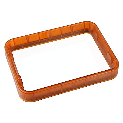 Resin Rack,Resin LCD 3D Printer Material Rack DLP Printing Resin Vat 255 * 190 * 34mm with FEP Film Compatible with Wanhao D8 3D Printer
