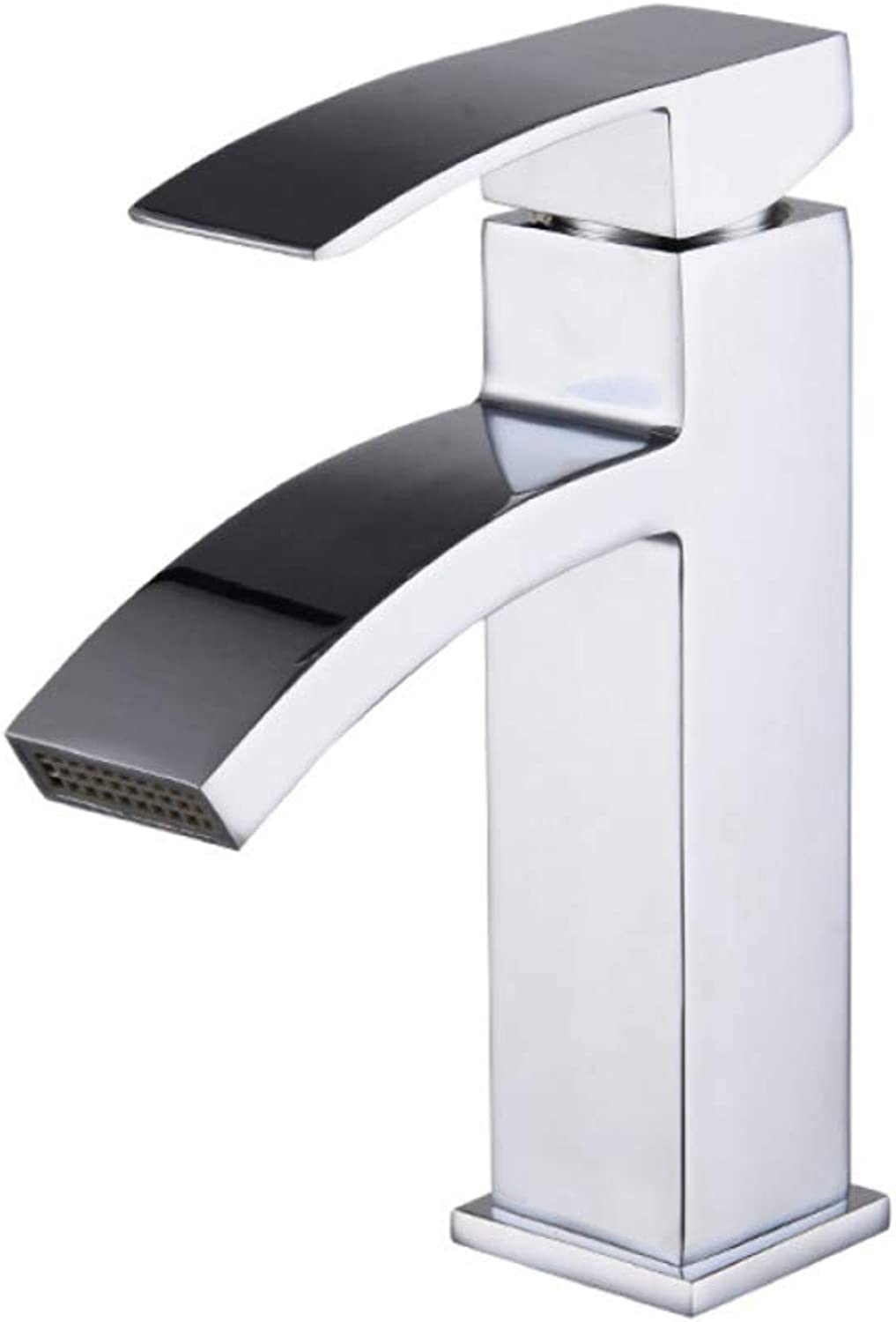 PYIP Sifang Waterfall hot and cold basin faucet single hole table bath cabinet pot faucet