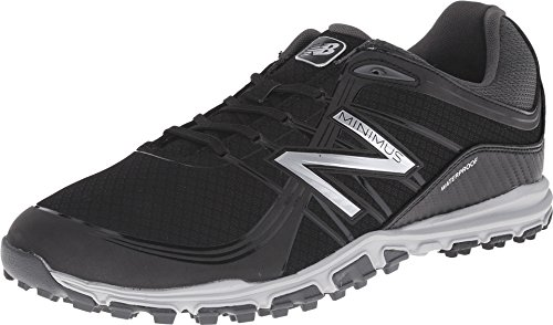 New Balance Men's Minimus Golf Shoe, Black, 10 D US