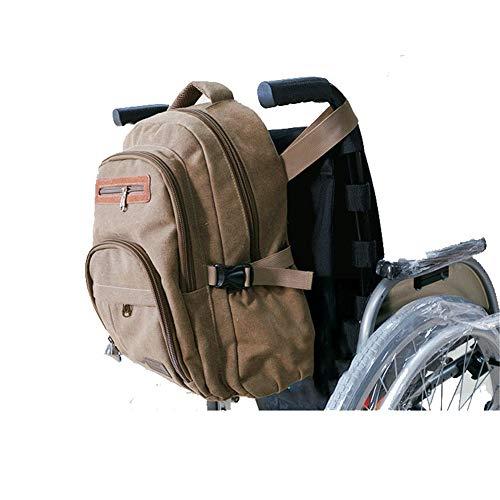 Rolstoeltas voor rugleuning, Walker-accessoires Opbergtas voor rollator-wandelaars Senior ouderen, armleuningzak Organizertas