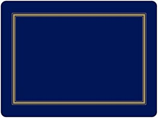 Pimpernel 2010648184 Placemats, Midnight Blue