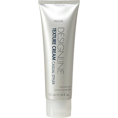 Texture Cream Casual Styler, 4 oz - Regis DESIGNLINE - Light Hold Hair Texturizing Styling Aid for All Hair Types