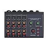 ZLDGYG SMDMM Mezclador Profesional de 8 Canales Audio Estudio, Consola Mezcla DJ, Amplificador, micrófono Digital, Mezclador Sonido, Tarjeta Sonido