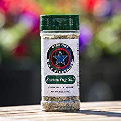 Authentic Gibsons Steakhouse Seasoning Salt