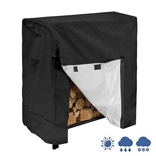 Affordable Camidy Log Rack Cover Waterproof Outdoor Firewood Rack Snow Protector with Carry Bag Fit ...