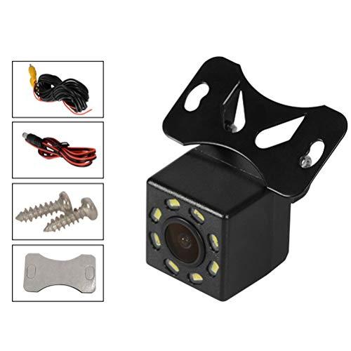 Vosarea Rückfahrkamera, 8 LEDs, High Definition, wasserdicht, Rückfahrkamera für Auto (schwarz)