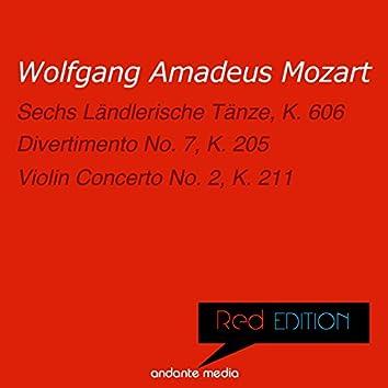 Red Edition - Mozart: Sechs Ländlerische Tänze, K. 606 & Violin Concerto No. 2, K. 211
