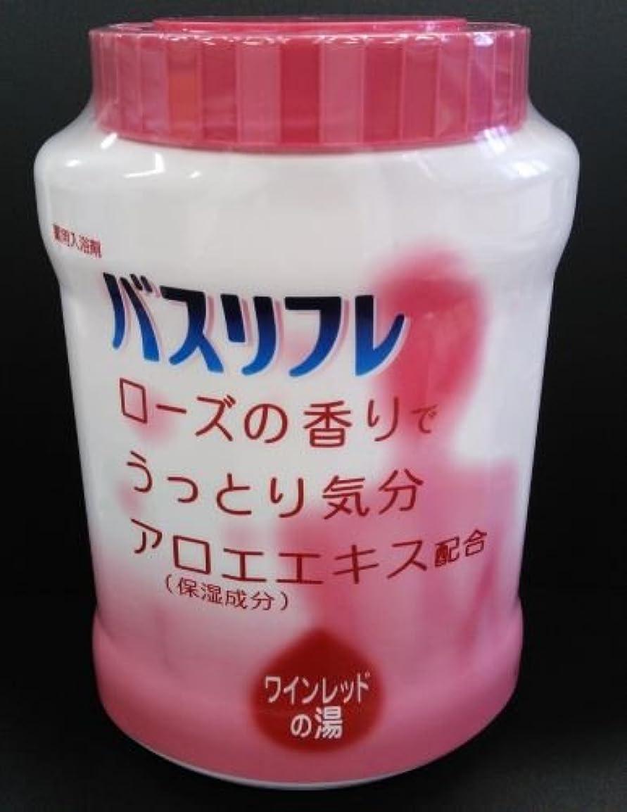 突破口標高申し込むバスリフレ 薬用入浴剤 ローズの香り (4900480223578)