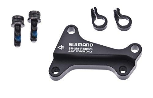 SHIMANO ISMMAR180SSA Bremshalterungen & Adapter, Schwarz, 180 mm