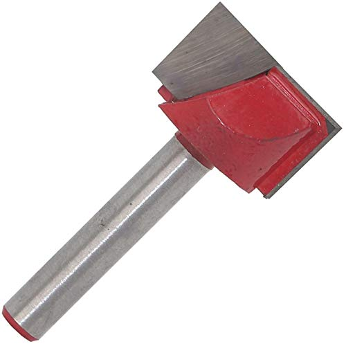 LF-wujin, 1pc Ordenador Talla de máquina Herramienta, Carpintería Fresa de 6 mm Borrar Fresado Abajo Abajo Pero Edge Edge Trimmer Mesa Cabeza de Corte (tamaño : 6)