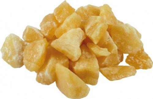 Unbekannt Mineralien, Rohsteine, Orangencalcit, 1 kg