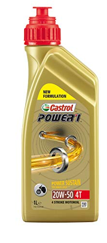 Castrol 15049A Olio Castrol Power 1 4t 20w-501l Lubrificante moto