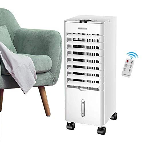 Ventilatori a piantana Climatizzatore d'aria portatile di raffreddamento ad aria 7000BTU, condizionatore d'aria a terra a tre in un piano, con 3 velocità della ventola, display a LED digitale, timer 2