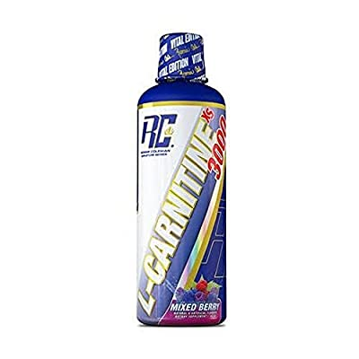 Ronnie Coleman Signature Series L-Carnitine XS Liquid Supplement, Mixed Berry
