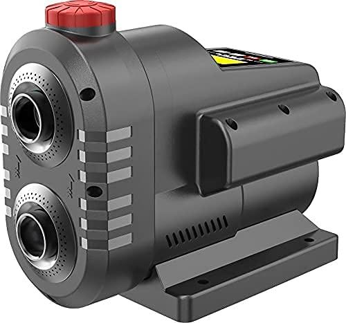 INVERTER HAUSWASSERWERK INVERT-Tech 3, Hauswassersautomat Permanent Magnet Vortex-Pumpe Hauswasserpumpe Wasserpumpe Gartenpumpe Kreiselpumpe mit Drucktank und Drucksensor