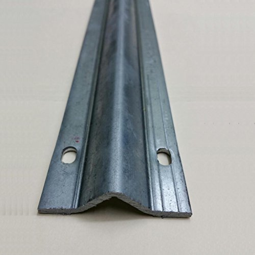 Galvanized Gate Inverted V Track 2- 6 feet pieces For Sliding, Rolling Driveway Gate, Sliding Car Entry Door -- Italy