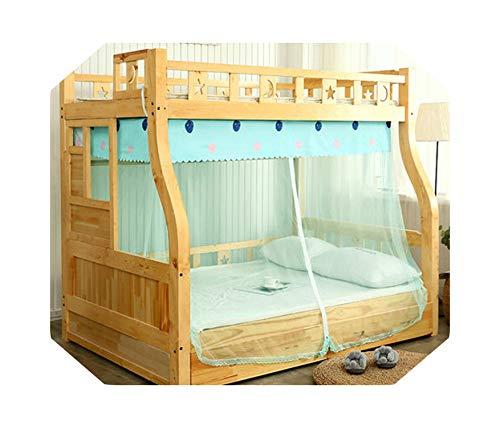 Eileen Ford Prinses slaapkamer decoratie   Klamboe voor Kind Trapezium stapelbed Palace Klamboe Eenvoudige Moskitiera-A3-1.0m (3,3 voet) Bed