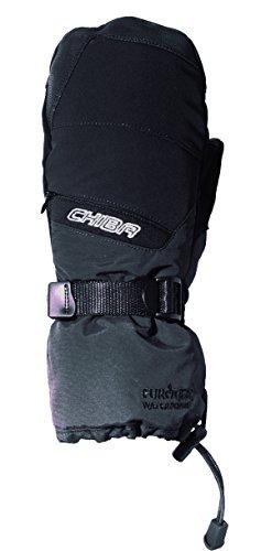 Chiba Gants de Snowboard pour Homme Polyamide Gant, Homme, Snowboard Mitten Polyamide, Noir, Size 7.5