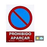 Normaluz RD41040 - Señal Prohibido Aparcar PVC Glasspack 0,7 mm 30x40 cm