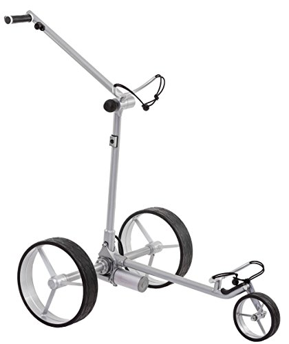 Leisure Golf Elektro Golftrolley Figus DHC (Silber)